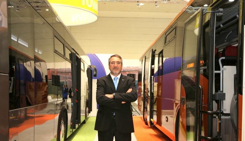 En yeni otobüsleri ile Avrupalı müşterilerinin karşısına çıkacak