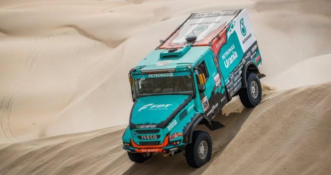 IVECO Takımı, Dakar 2019 Rallisinde dört kamyonu ile ilk 10'da