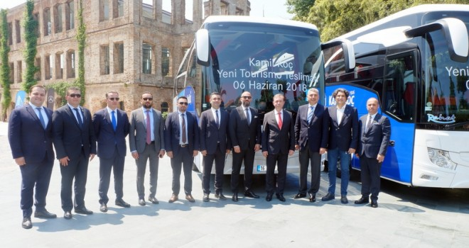 35 adet Tourismo aldı, dev filosu ile 20 milyon yolcu taşımayı hedefliyor