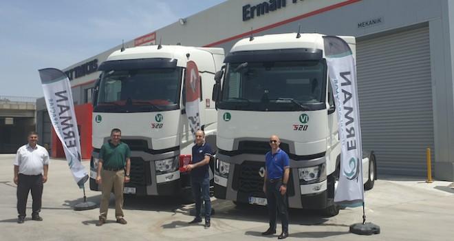 Mersinli Aktur Uluslararası Taşımacılık tercihini Renault Trucks T 520 yüksek kabinden yana kullandı