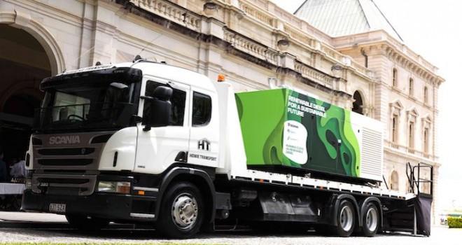 Scania, Avusturalya'nın biyoyakıt araştırmalarına 16 litrelik endüstriyel motor ile destek veriyor