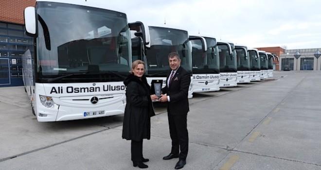 Ali Osman Ulusoy Seyahat, 2019'da filosunu 20 adet Mercedes-Benz otobüs ile güçlendirdi