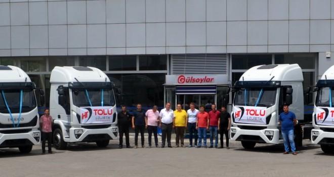 Tolu Lojistik, filosuna 14 adet Eurocargo kamyon kattı