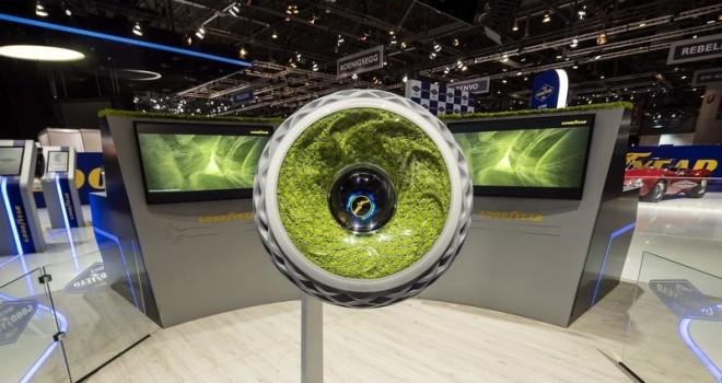 Goodyear, geleceğin teknolojik ve çevreci lastiklerini sergiliyor!