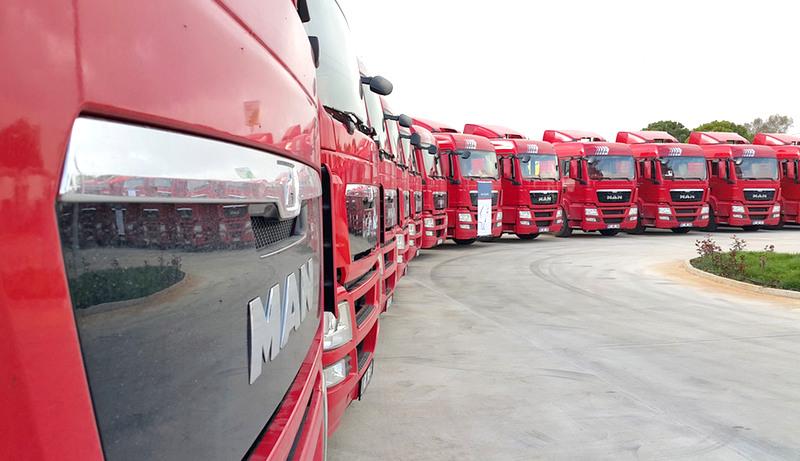 100 adet kamyon sipariş etti, ilk 20'sini teslim aldı