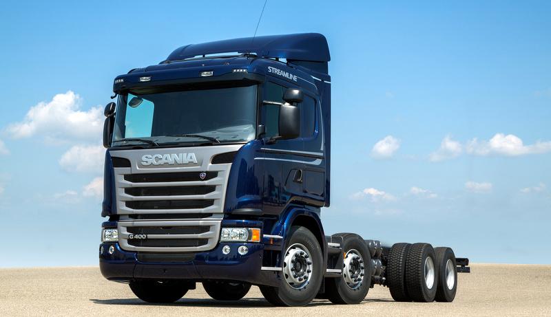 Scania'nın 'Kırkayak Kamyonu' yeniden yollara çıktı