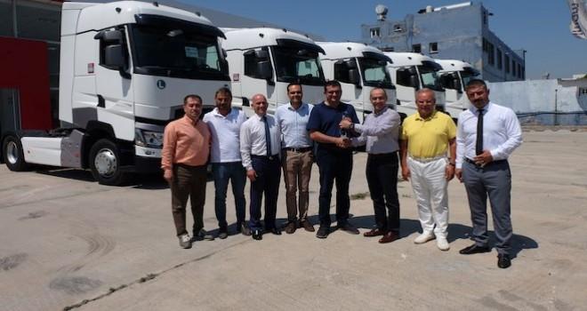Erman Lojistik filosuna 5 adet Renault Trucks T serisi çekici kattı