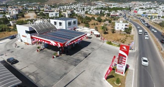 Petrol Ofisi, ilk güneş enerjili istasyonunu Bodrum'da hizmete açtı