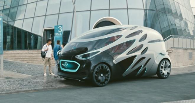 Geleceğin elektrikli ve otonom aracı: Vision URBANETIC
