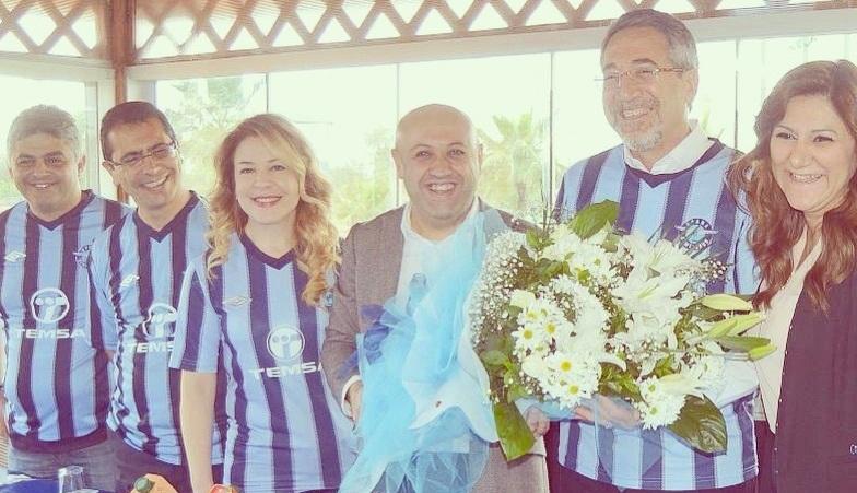 TEMSA, ADANA DEMİRSPOR'U ZİYARET ETTİ