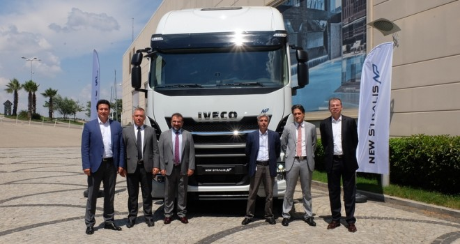 1600 kilometre menzile sahip LNG'li Stralis Türkiye'de