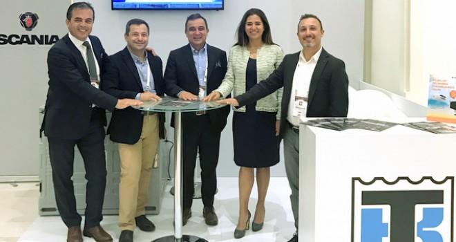 Ekonomi ve Lojistik Zirvesi'nde Scania'dan İnovasyon Ödülü