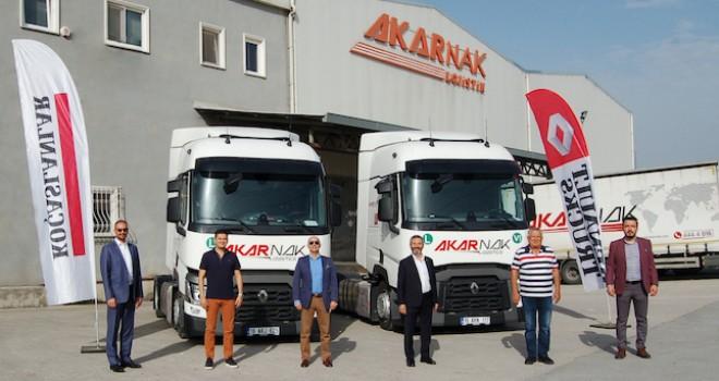 Filosuna kattığı Renault Trucks çekiciler ile öz mal araç sayısını 140 adede yükseltti