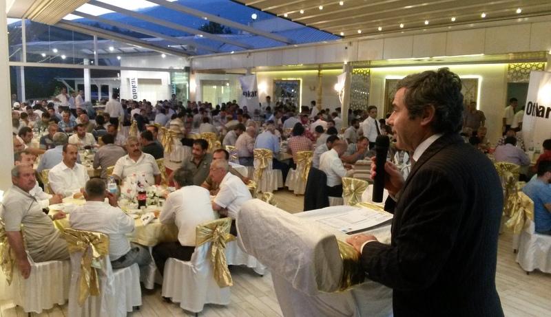 Otokar, Maraşlı toplu taşımacılar ile iftar yemeğinde buluştu