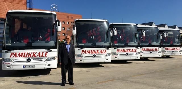 6 adet Tourismo, 4 adet de Conecto teslim etti