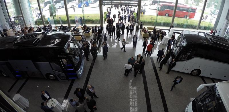 600 otobüsçü Maraton ve Safir Plus için Adana'da buluştu