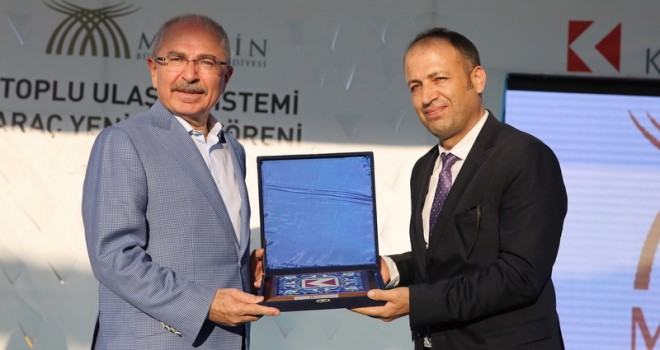 Karsan bu yıl Mardin'e 200 Jest+ minibüs teslim etti