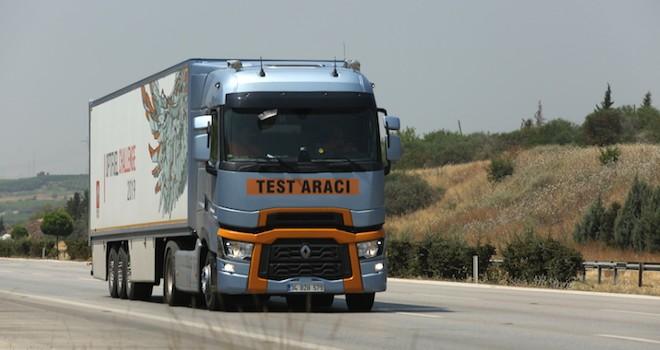 Renault Trucks T 520 ile 100 kilometrede 21.5 litre yakıt tüketti, Lyon'daki Türkiye'yi temsil edecek