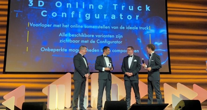 DAF Trucks'a Computable Award 2018 Ödülü