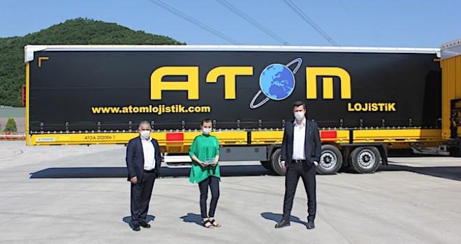 Atom Lojistik, filosuna 16 adet Tırsan Treyler ekledi