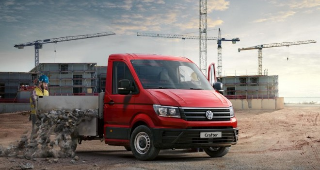 Yeni Crafter Pick-up Türkiye pazarına sunuldu