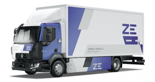 Delanchy Group elektrikli taşımadaki kararlılığını Renault Trucks ile onayladı