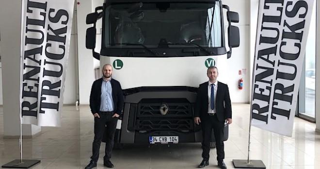 Ceren Uluslararası Nakliyat, Renault Trucks T serisi ile filosunu güçlendirdi