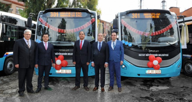 Otokar'dan Hatay'a 23 adet Sultan LF otobüs