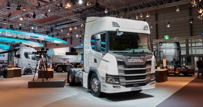Scania IAA'nda alternatif yakıtlara yönelik çözümlerini tanıttı
