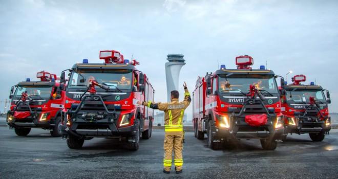 Volvo Trucks'tan İstanbul Havalimanı'na 5 kamyon