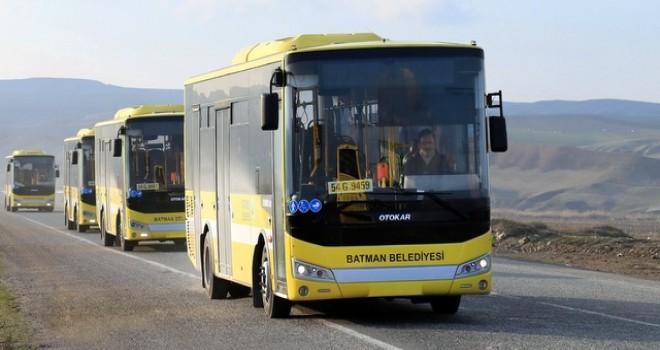 Batman Belediyesi, filosunu 20 adet Allison tam otomatik şanzımanlı otobüsle güçlendirdi