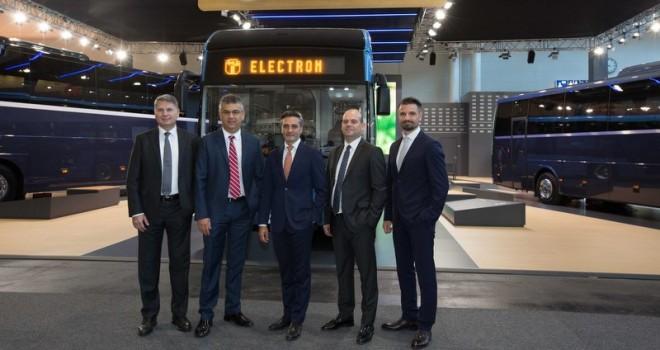12 metrelik Temsa Avenue Electron IAA'da tanıtıldı