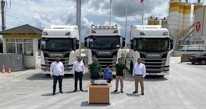 Tonbullar Hazır Beton'a 3 adet Scania