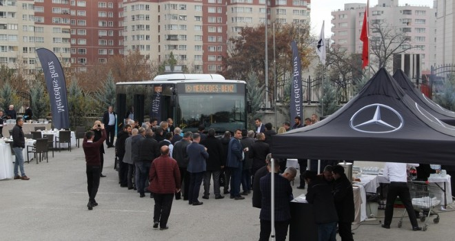 Mercedes-Benz Türk, Ankaralılar'a Conecto'yu tanıttı