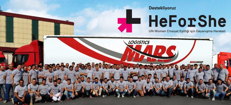 Mars Logistics'in erkek çalışanlarından önemli bir toplumsal sorumluluk hareketine tam destek
