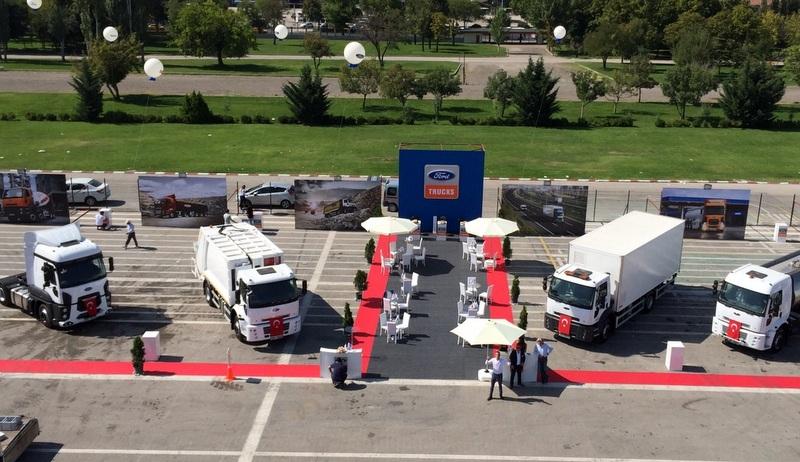 Ford Trucks, Citytech Fuarı'nda ilgi odağı oldu