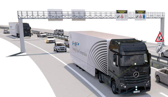 Geleceğin kamyonu sürücüsüz anayolda 14 km yol yaptı… İşte o anlar (VİDEO)