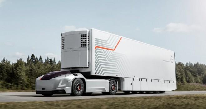Volvo Trucks'tan kabinsiz, sürücüsüz elektrikli kamyon