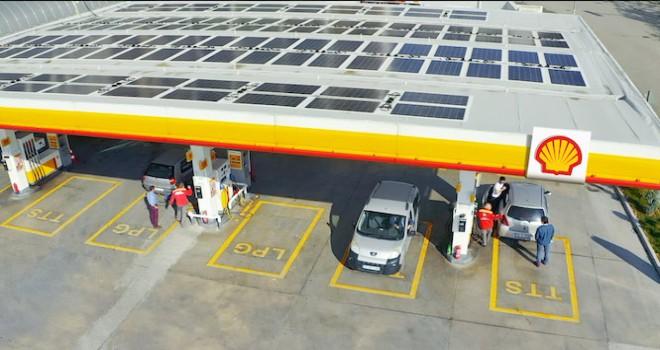 Shell & Turcas enerjisini güneşten alan ilk istasyon yatırımını Ankara'da gerçekleştirdi