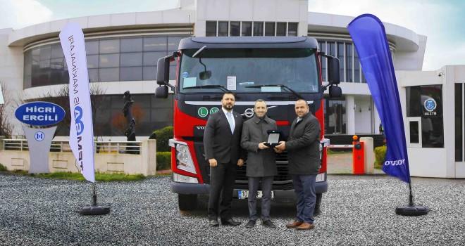 Türkiye'nin en hafif Volvo Trucks çekicisinin sahibi oldu