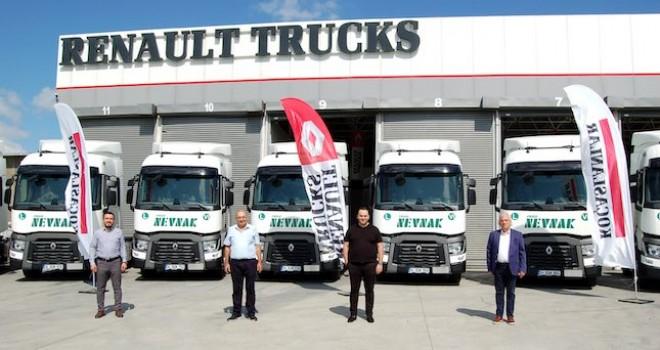 Frigo Nevnak filosuna 8 adet daha Renault Trucks T 480 kattı