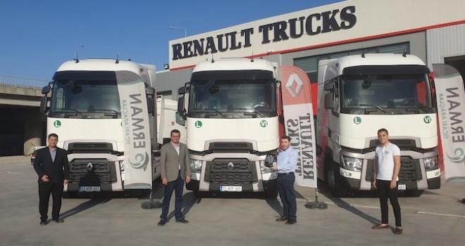 Bakiler Lojistik filosuna 4 adet Renault Trucks T 480 kattı