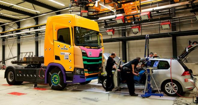 Scania'dan Kör Nokta Algılama Uyarı Sistemi