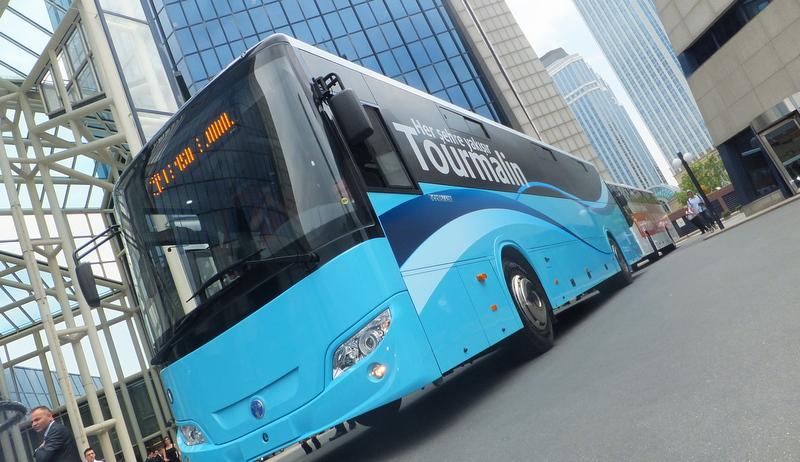 Temsa'nın yeni otobüsü Tourmalin yola çıktı