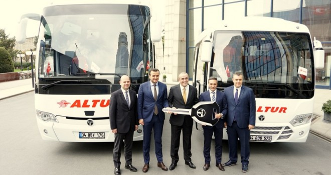 TEMSA, Altur Turizm'e120 adet otobüs teslim etti