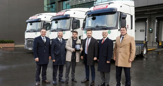 Dev gıda firması filosuna 45 adet Renault Trucks kattı