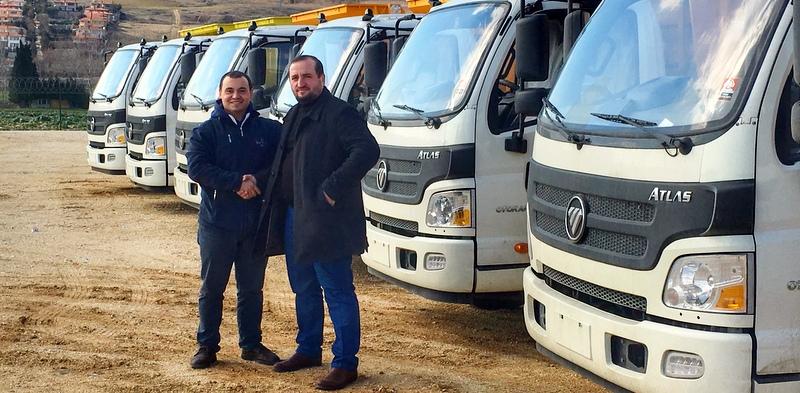 7 adet Otokar Atlas kamyon aldı