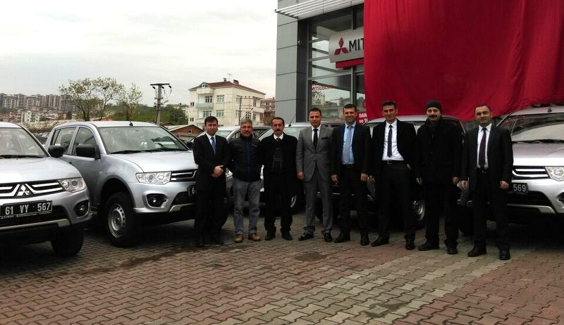 Trabzon Büyükşehir Belediyesi ve TİSKİ'ye 14 adet L200 teslimedildi