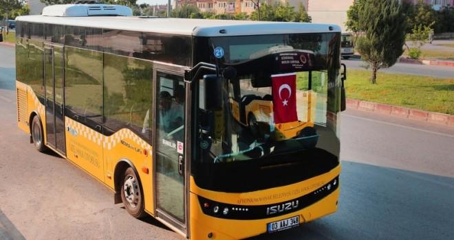 Afyonkarahisar'a 36 adet Allison tam otomatik şanzımanlı otobüs