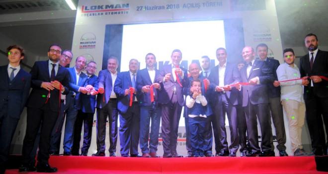 Lokman Koçaslan Otomotiv'in Bursa Görüklü'deki yeni yetkili satış ve servis merkezi açıldı